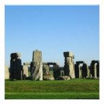 Stonehenge Landscape Custom Invitations
