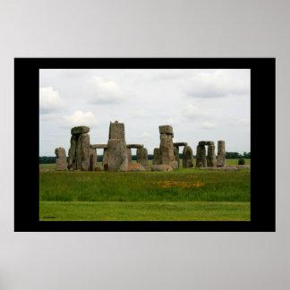 Stonehenge Landscape III Poster