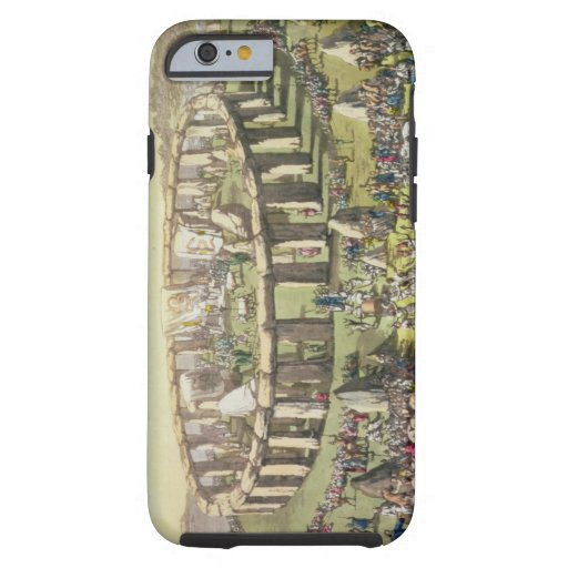 Stonehenge, or a Circular Temple of the Druids, pl iPhone 6 Case