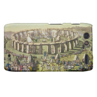Stonehenge, or a Circular Temple of the Druids, pl Motorola Droid RAZR Case