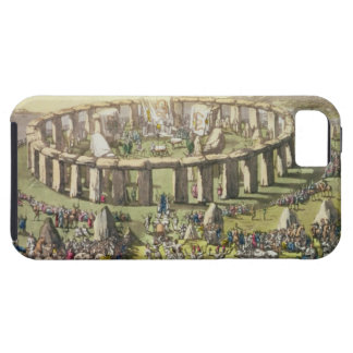 Stonehenge, or a Circular Temple of the Druids, pl Case For The iPhone 5