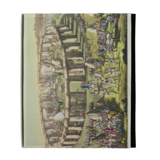 Stonehenge, or a Circular Temple of the Druids, pl iPad Folio Cases