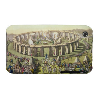 Stonehenge, or a Circular Temple of the Druids, pl iPhone 3 Case