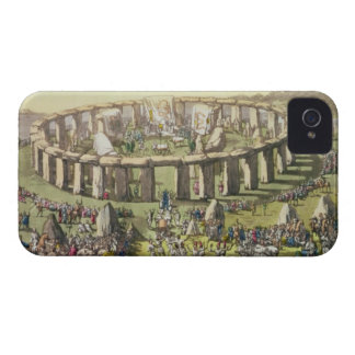 Stonehenge, or a Circular Temple of the Druids, pl iPhone 4 Cover