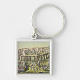 Stonehenge, or a Circular Temple of the Druids, pl Key Ring