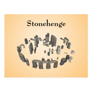 Stonehenge: Postcard