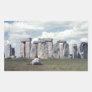 Stonehenge Rectangular Sticker
