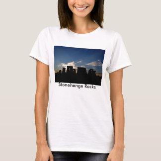 Stonehenge Rocks Ladies T-shirt