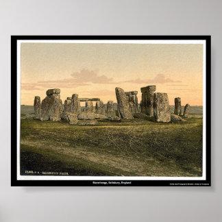 Stonehenge, Salisbury, England Poster