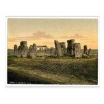 Stonehenge, Salisbury, England rare Photochrom