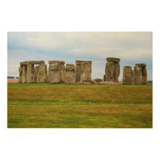 Stonehenge Scenic, England Wood Wall Art