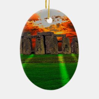 Stonehenge Standing Stones at Sunset Ornaments