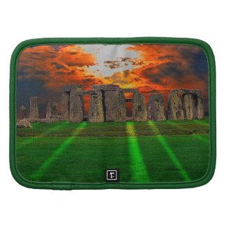 Stonehenge Standing Stones at Sunset Folio Planner