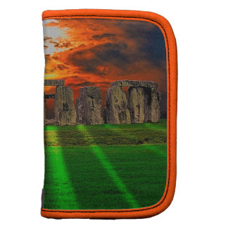 Stonehenge Standing Stones at Sunset Planners