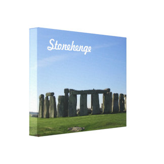 Stonehenge Stretched Canvas Prints