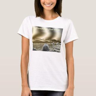Stonehenge Sun Waves Woman`s T-Shirt