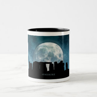 Stonehenge Two-Tone Coffee Mug