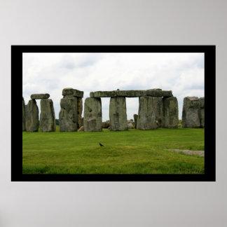 Stonehenge Views Poster