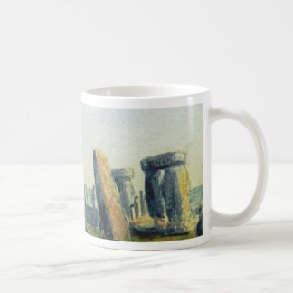Stonehenge Watercolours Coffee Mug