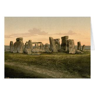 Stonehenge Wiltshire England Card