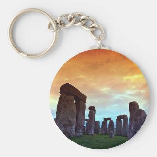 Stonehenge, Wiltshire, England Key Ring