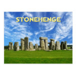 Stonehenge, Wiltshire, England Postcard