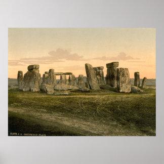 Stonehenge Wiltshire England Print