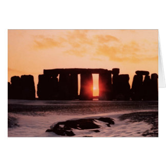 Stonehenge, Winter Solstice Card