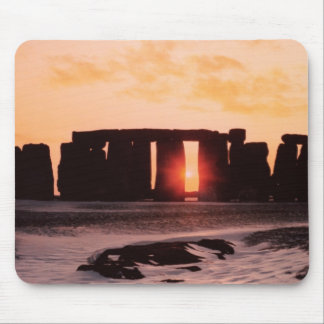 Stonehenge, Winter Solstice Mouse Pad