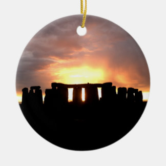 Stonehenge Winter Solstice Ornament