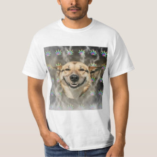 Stoner Dog Advice Animal Meme T-Shirt