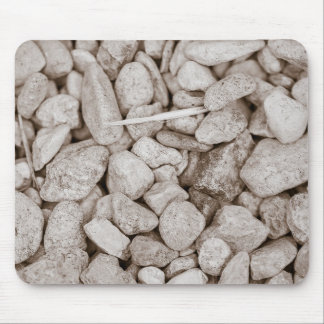 Stones and Wood Mouse Pad