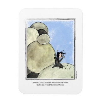 STONES cartoon by Ellen Elliott Rectangular Photo Magnet