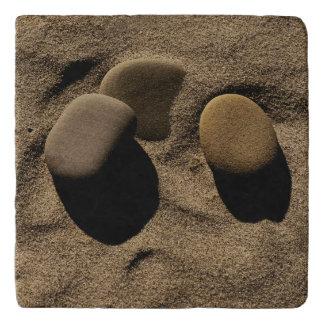 Stones in Sand Trivet