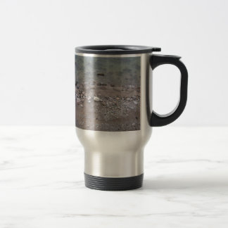 Stones in the Baltic Sea Stainless Steel Travel Mug