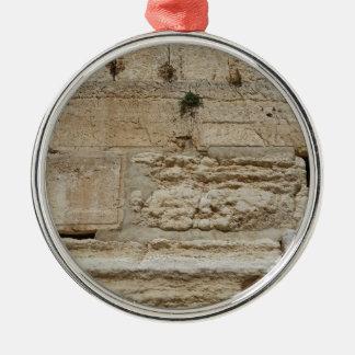 Stones Kotel Western Wall Jerusalem Christmas Ornament