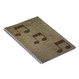 Stones Music Note theme Note Book Journal