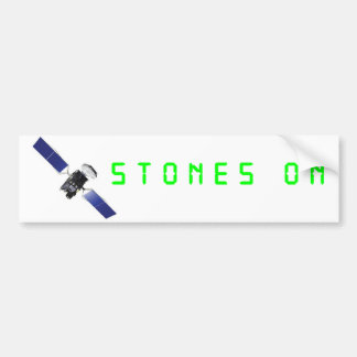 STONES ON Bumper Sticker