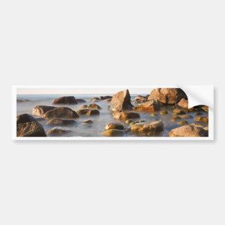 Stones on shore of the Baltic Sea Bumper Sticker