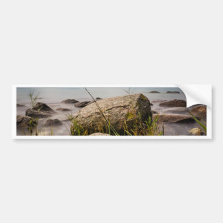 Stones on shore of the Baltic Sea Bumper Stickers
