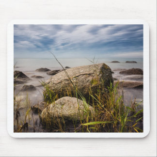 Stones on shore of the Baltic Sea Mousepads