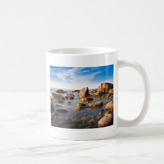 Stones on shore of the Baltic Sea Coffee Mugs