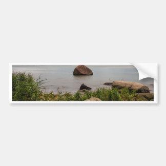 Stones on the Baltic Sea coast Bumper Stickers