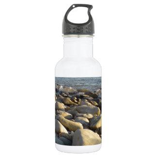 stones on the beach 532 ml water bottle