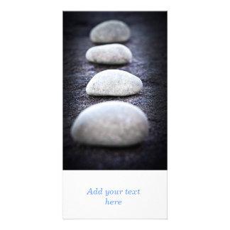 Stones Photo Greeting Card