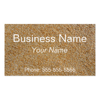 Stones plaster pack of standard business cards
