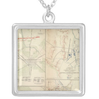 Stone's River before Murfreesborough Silver Plated Necklace