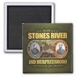 Stones River (FH2) Square Magnet