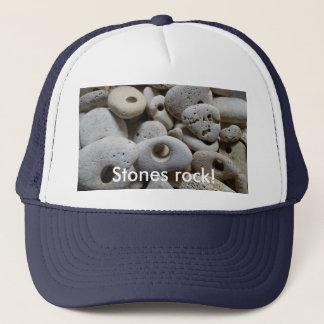 Stones rock! Cool fun and trendy Trucker Hat