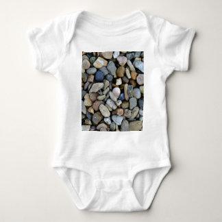 stones texture baby bodysuit